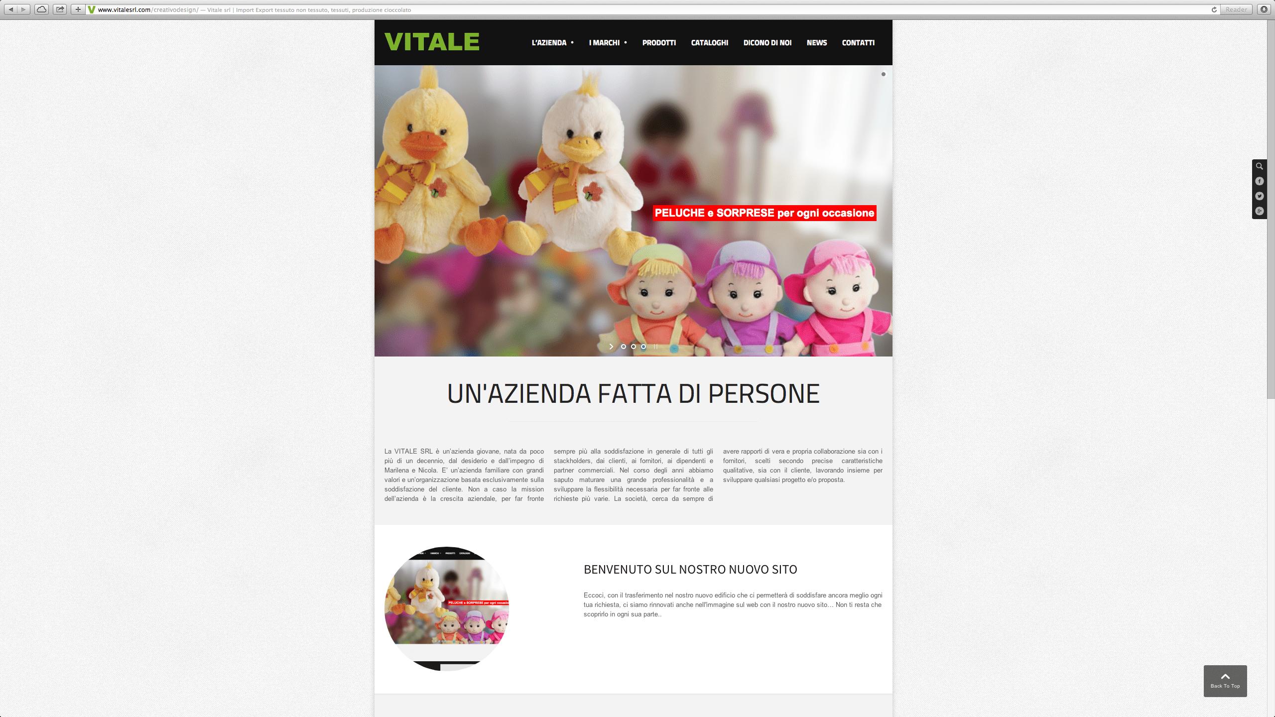 Sito Web – vitalesrl.com