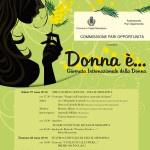 Manifesto 70x100 - Giornata Internazionale Donna