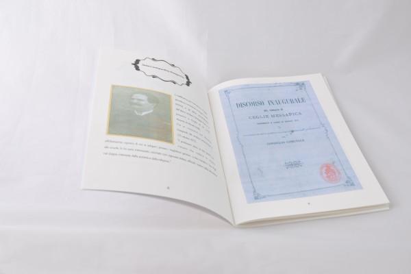 grafica libro per 80 anni di scuola