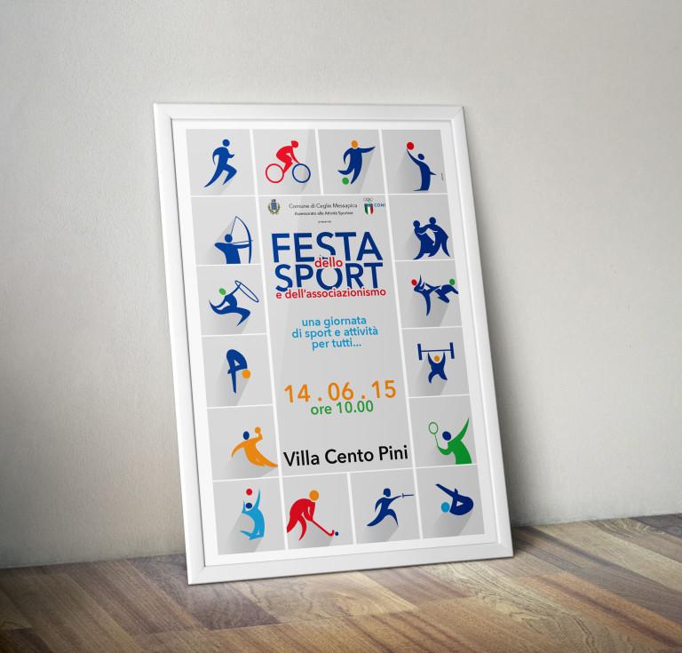 Festa dello Sport – Poster
