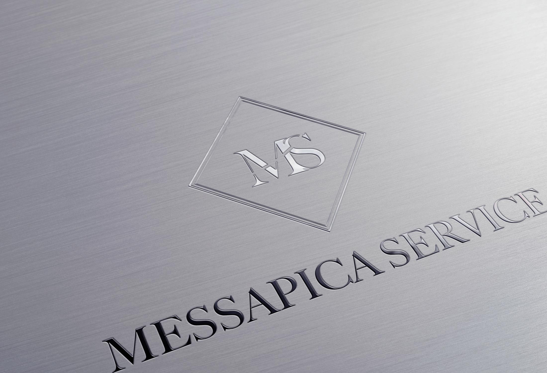 Logo per l'Agenzia di Servizi Messapica Service