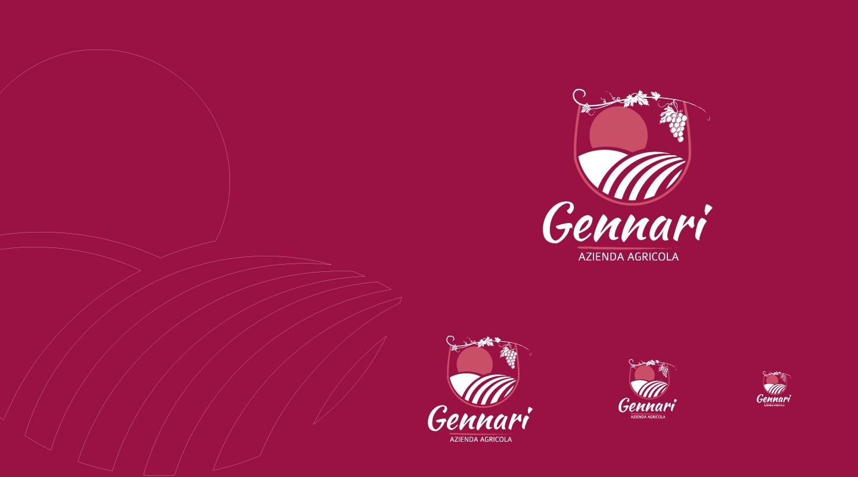 Azienda Agricola Gennari - Logo design