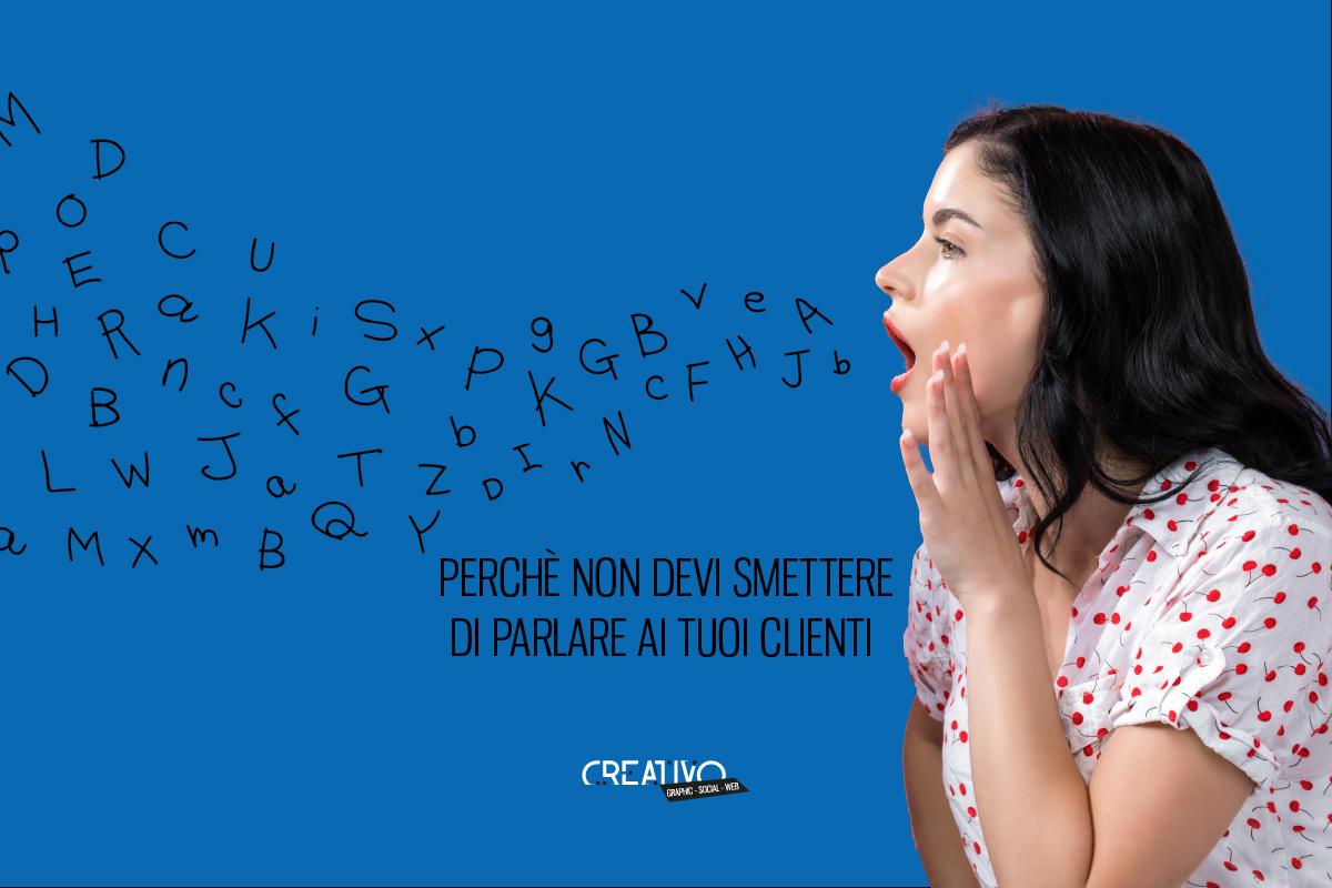 Copertina - Non Smettere di Parlare ai clienti